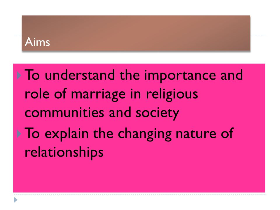 how important is marriage in society Importance of religion in today's world religion is an important part of life for many people even people who are not all that religious by nature consider it to be important the question is why do they feel this way the reason is largely down to the belief that society needs religion as a.