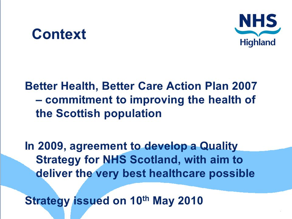 nhs culture and the quality of patient care Creating a culture of improving safety that patient safety and quality are safety culture and safe patient care just culture organizations realize.