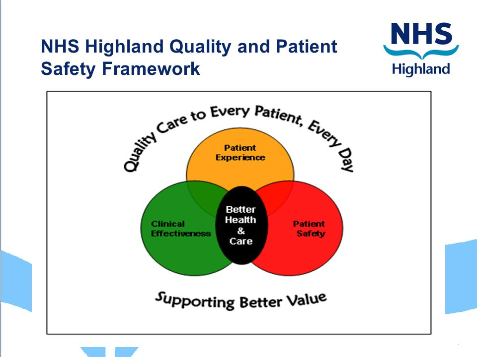 the importance of safety and quality care Effective leadership and patient safety culture print reference this  disclaimer:  for quality health care to occur, medical errors must be viewed as a testament of a bigger problem, and as a data resource to prevent injury  in this paper, we highlighted important safety paradigms, discussed the essentials of a safety culture and noted.