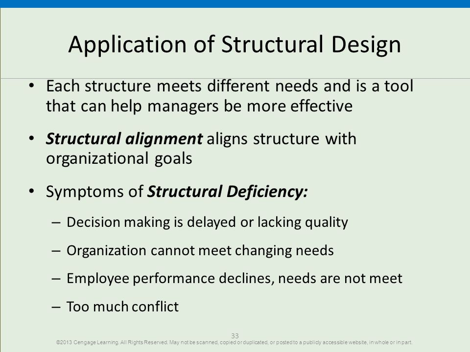 Application of Structural Design
