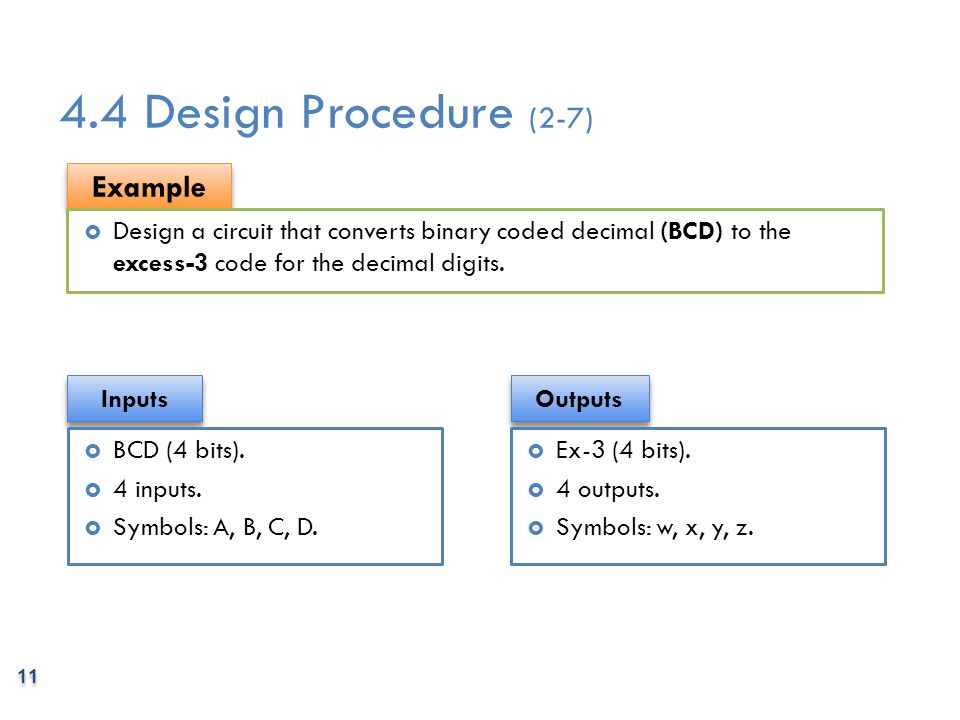 4.4 Design Procedure (2-7) Example