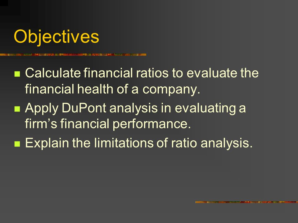 limitations of financial ratios as a tool to evaluate financial performance essay View the performance of your stock and ratio analysis: using financial ratios then ratios become a powerful tool to evaluate how attractive a potential.