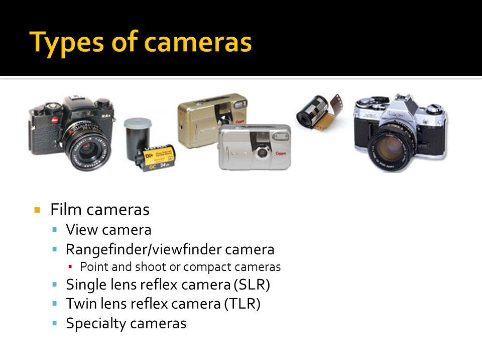 Types Of Lenses For Cameras   CINEMAS 93