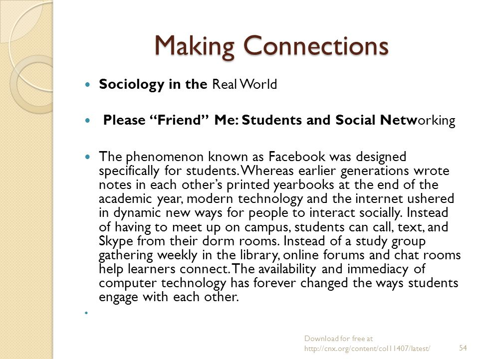 chat room sociology Chat room sociology  it is frightening to think that perhaps the majority of internet chat room users are looking for young and naïve teenagers to.