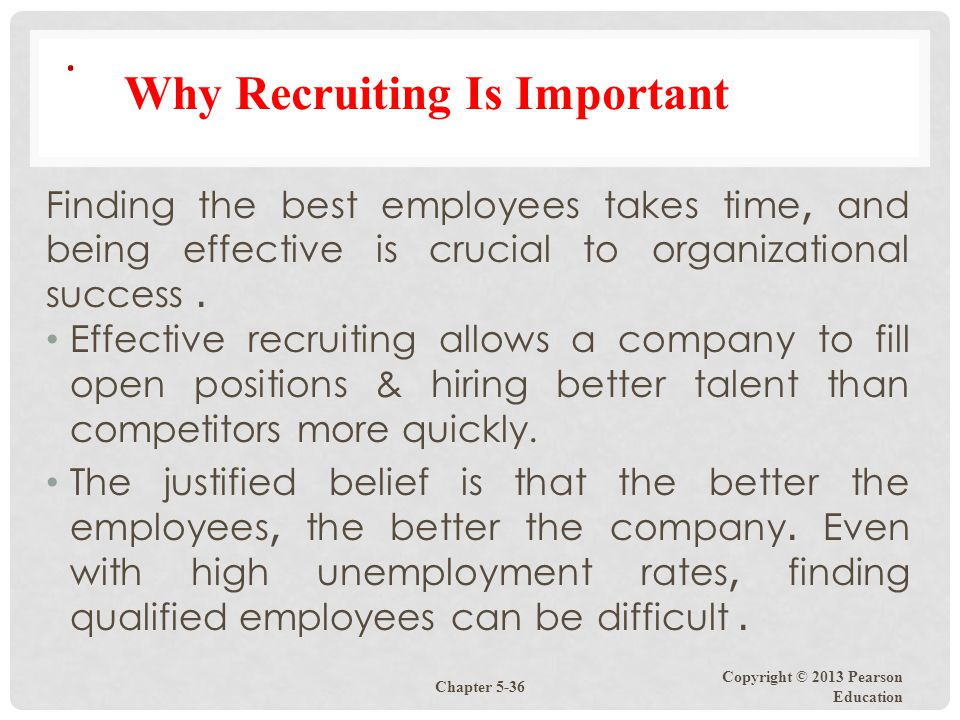 Why Recruiting Is Important