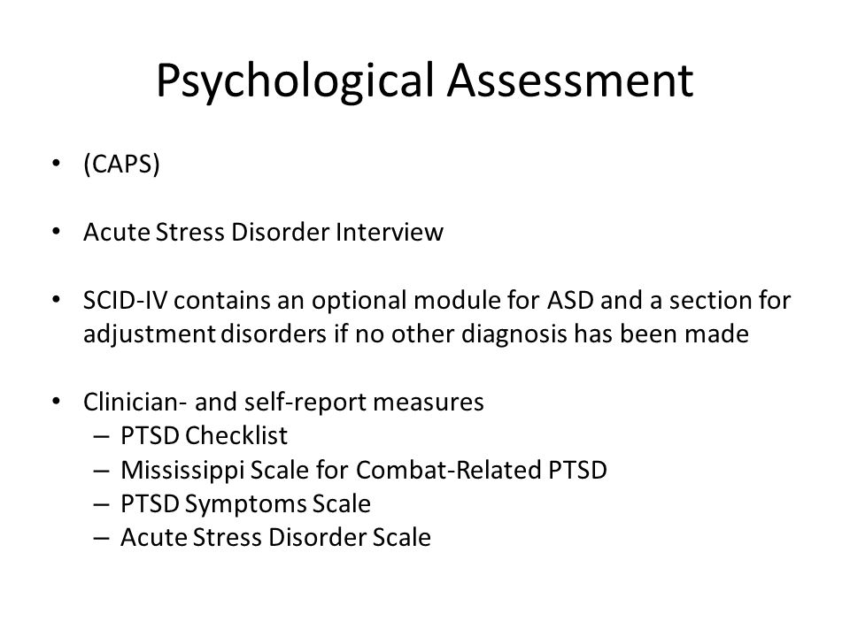 apa style ptsd As you are writing your method section, keep a style guide published by the american psychological association on hand, such as the publication manual of the american psychological association take a rough draft of your method section to your university's writing lab for additional assistance.