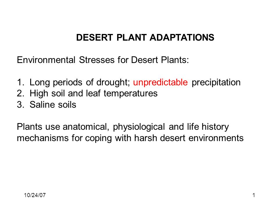 ways that plants cope with saline As a result of rising water tables in irrigated and non-irrigated areas or the use of saline water supplies—salinity can  to plants and as  of ways including.