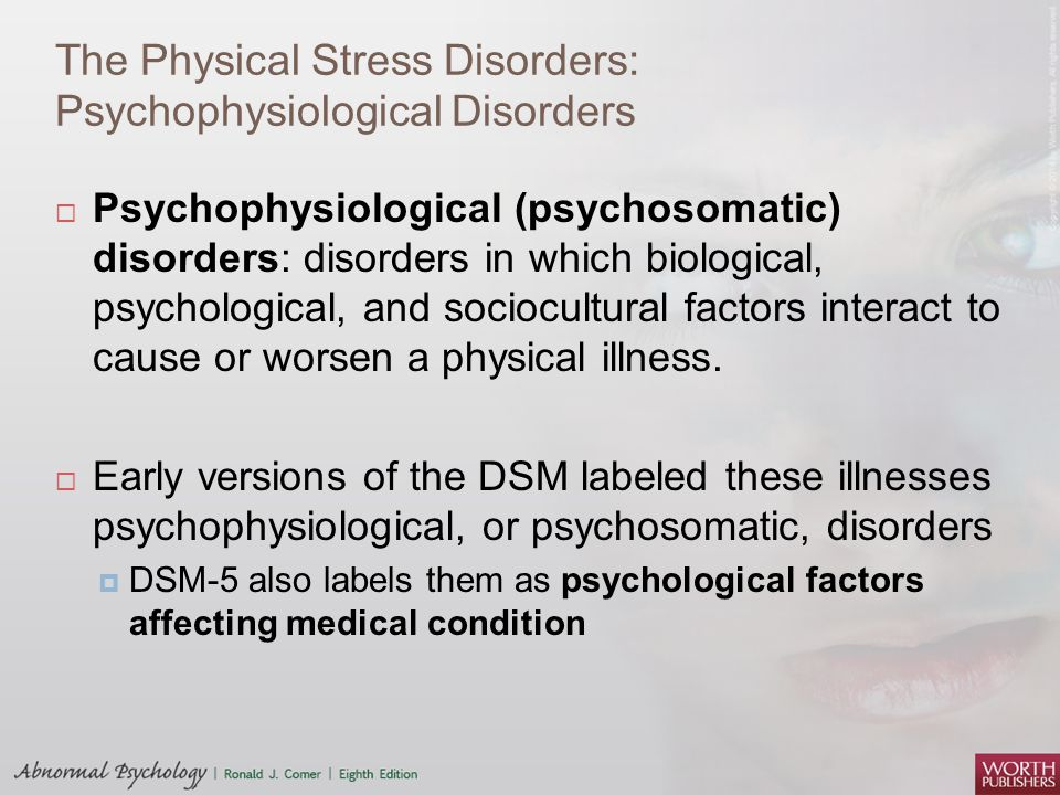stress and illness psychology These technologies are said to takeover people's lives, creating time and social pressures that put people at risk for the negative physical and psychological health effects that can result from stress.