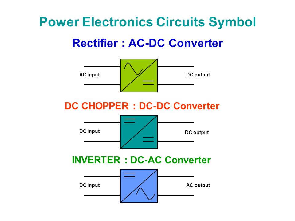 Charming Ac Dc Converter Symbol Pictures Inspiration - Electrical ...