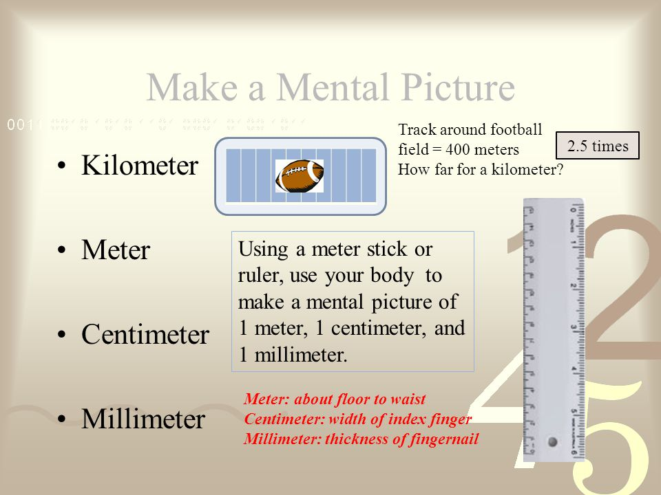 How Far Is A Meter : Medical math powerpoint with matching listening guide is