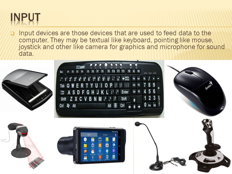 importance of input devices 1 introduction  an input device is a piece of hardware that is used to enter data into a computer there are many different kinds of input devices.