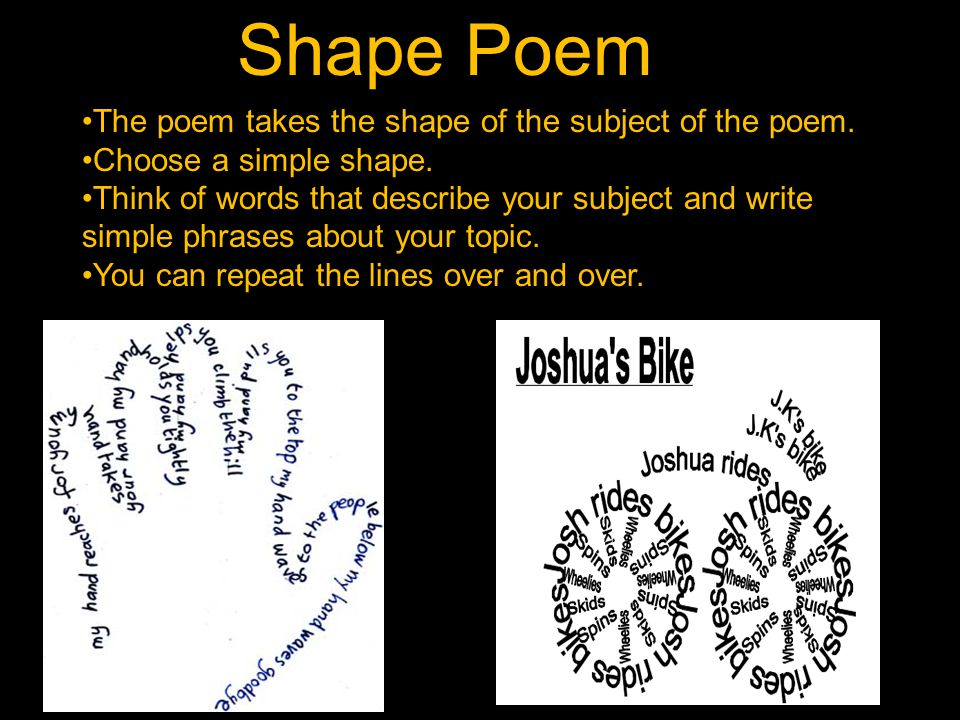 how to think of a poem topic