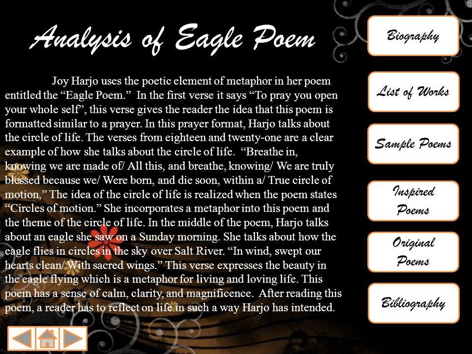 the eagle poem analysis pdf