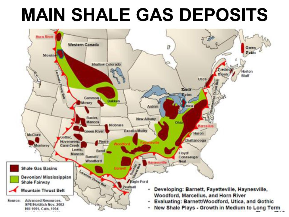 IS THERE A PEAK GAS AHEAD Ppt Video Online Download - Us shale plays map