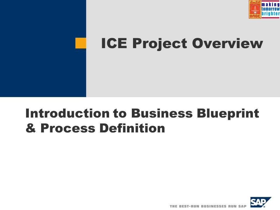 Introduction to business blueprint process definition ppt video introduction to business blueprint process definition malvernweather Choice Image