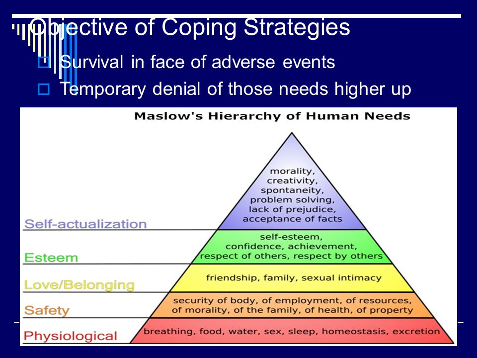 coping strategies as a function of Two main functions of coping: functions directed to the problem and functions   thus, researches on teachers' stress peculiarities and its coping strategies show .