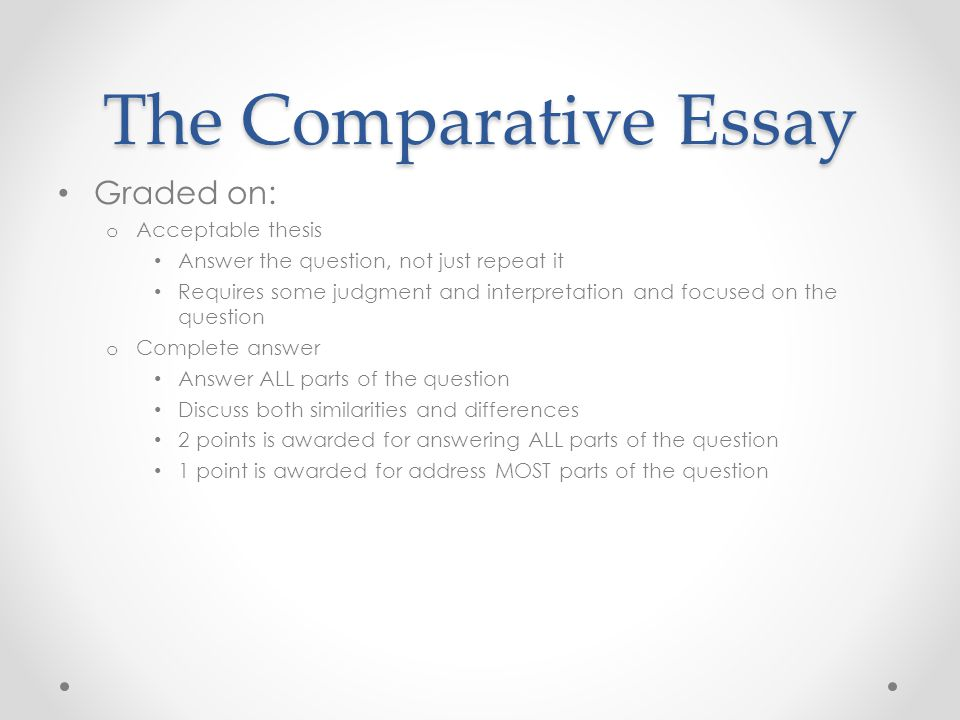 write ap world thesis Thesis writing a thesis should be a specific argument that answers the question at hand example test question prompt: compare and contrast the an ap world history thesis would read: there were many similarities and differences between the roman empire during 206 bce-220 ce and the.