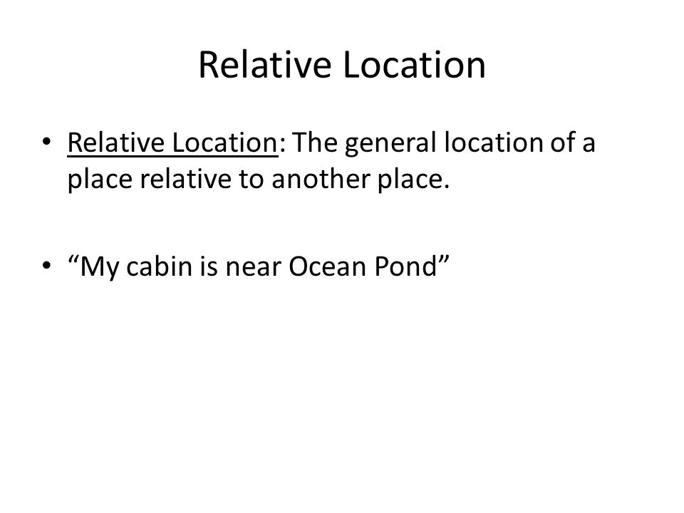Canadian Geography Chapter 1 Your Space. - ppt video online download