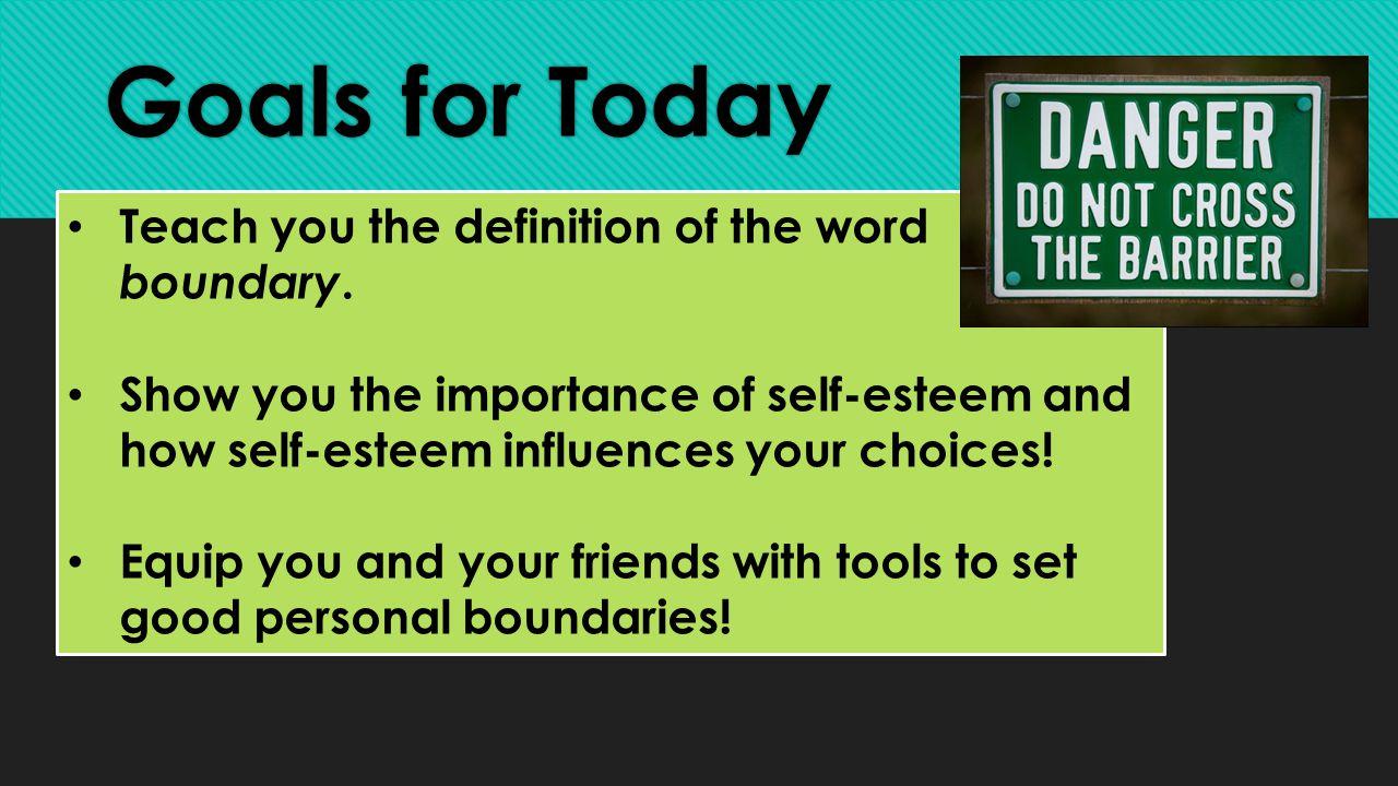 importance of self esteem