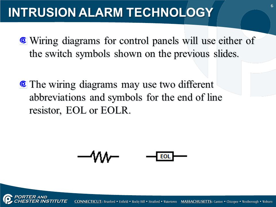intrusion alarm technology ppt intrusion alarm technology