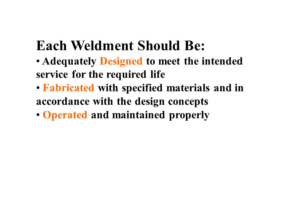 weld quality weld testing ppt