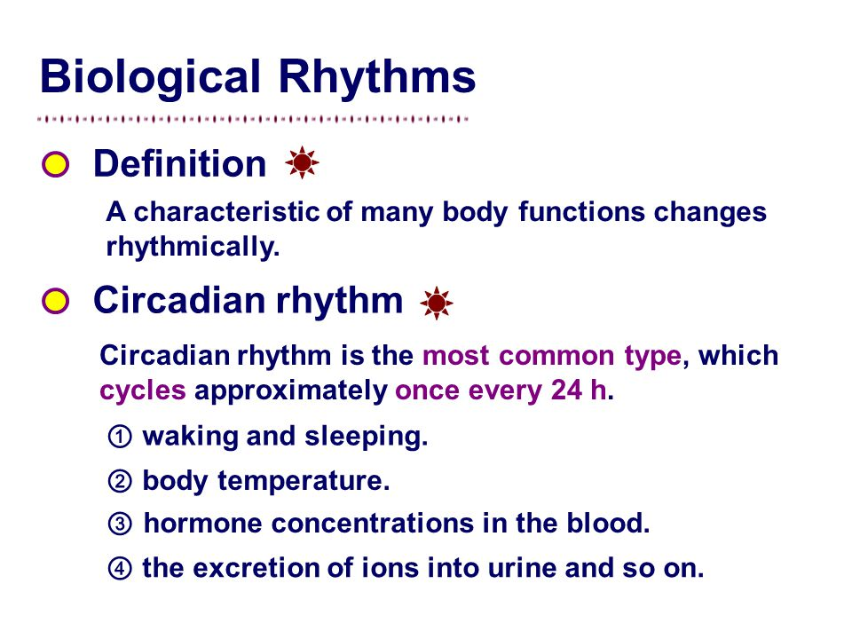 the circadian rhythm effect It's well known that mammalian circadian rhythms are closely tied to light/dark  cues from the environment, but their effect on an animal's.