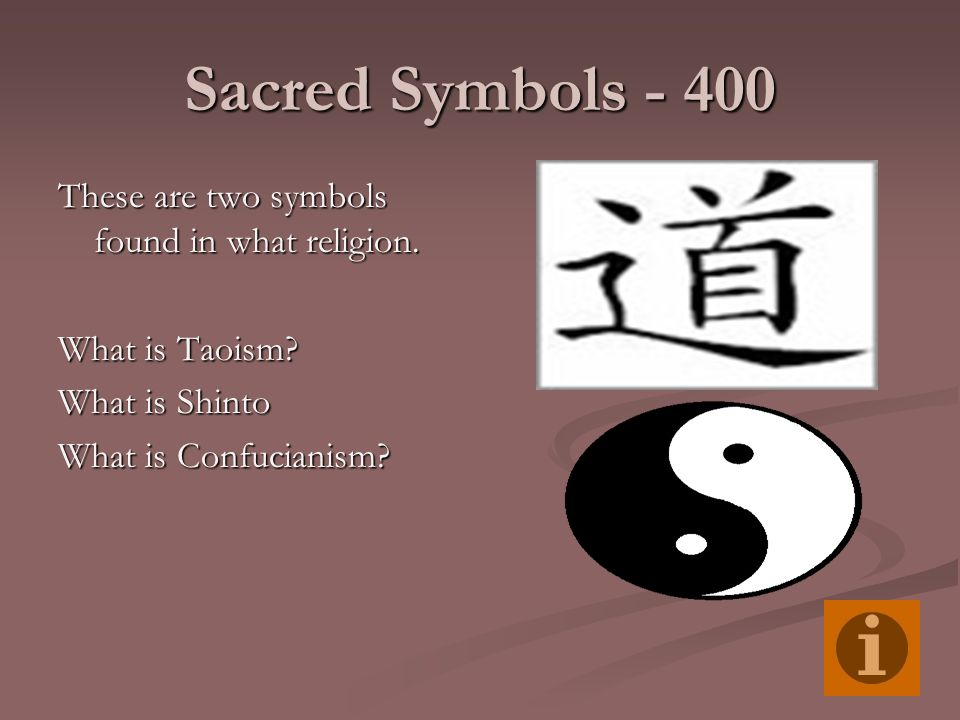 sacred symbols Religious symbolism and iconography: religious symbolism and iconography, respectively, the basic and often complex artistic forms and gestures used as a kind of key to convey religious concepts and the visual, auditory, and kinetic representations of religious ideas and events.