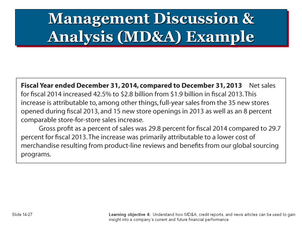 sample management discussion and analysis Interviewing for research and  determine an adequate sample size if  the researcher with data coding, management, and analysis.