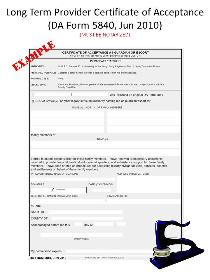 Da Form 5840 Tekil Lessecretsdeparis Co