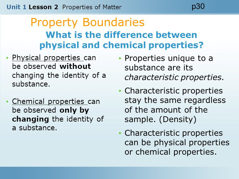 Unit 1 Lesson 2 Properties of Matter ppt video online download – Physical and Chemical Properties of Matter Worksheet