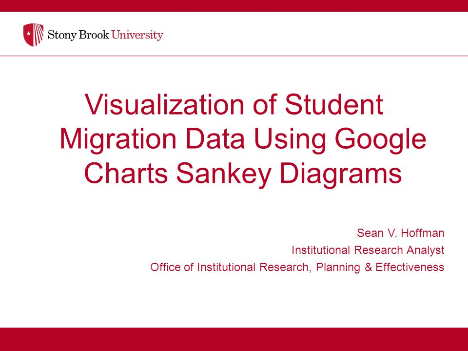 Sean v hoffman institutional research analyst ppt video online visualization of student migration data using google charts sankey diagrams ccuart Gallery