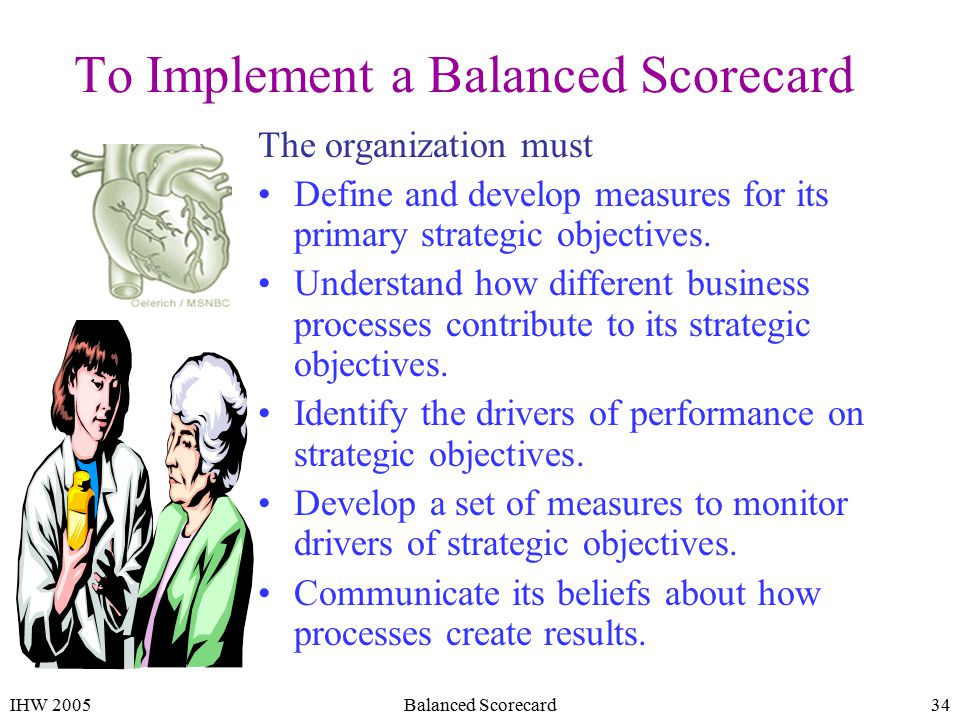 bsc implementation process and initiatives essay Quad aim, strategic imperative, performance measure(s), initiatives  patient  centered medical home implementation (sg 3 measure)  identify and counter  internal weaknesses in business processes (f2 measure)  front matter i–xxiv  summary 1–20 1 introduction 21–42 2 the dhs workplace and health system .