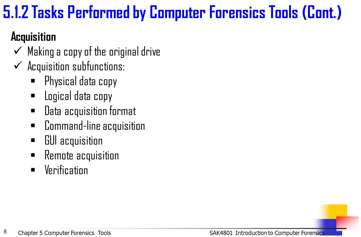Computer Forensic Imaging Software