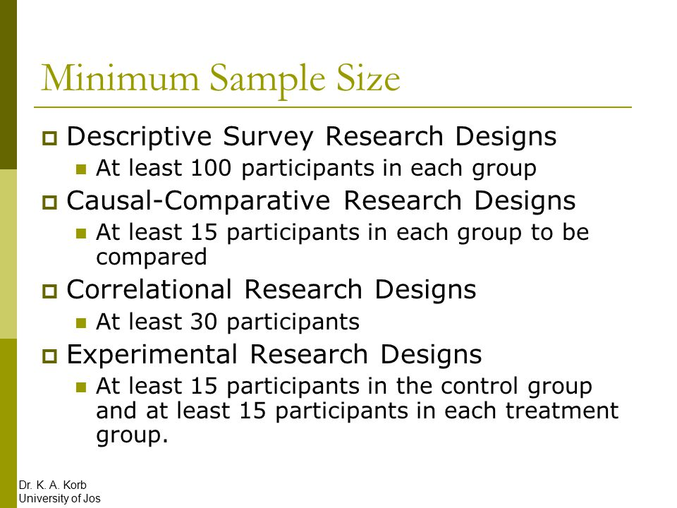 Sampling and Participants - ppt download