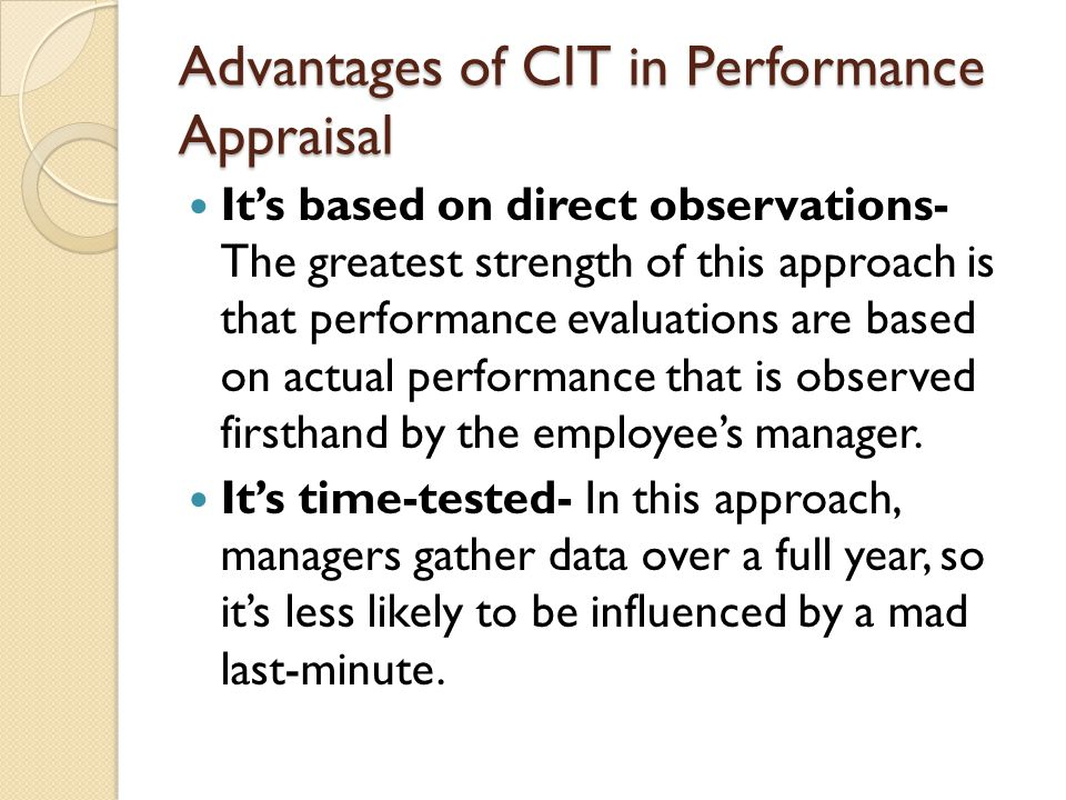 review of literature on performance appraisal Volume 3 issue 7 july 2017 page no 37-42 the impact of appraisal system,  supervisor support and motivation on employee retention: a review of literature.