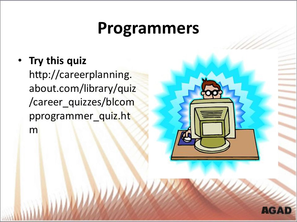 Programmers Try this quiz