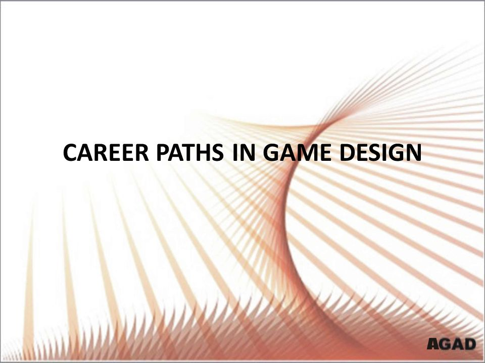 Career Paths in Game Design