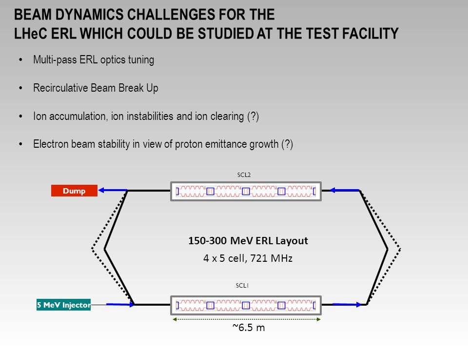 beam dynamics challenges for the