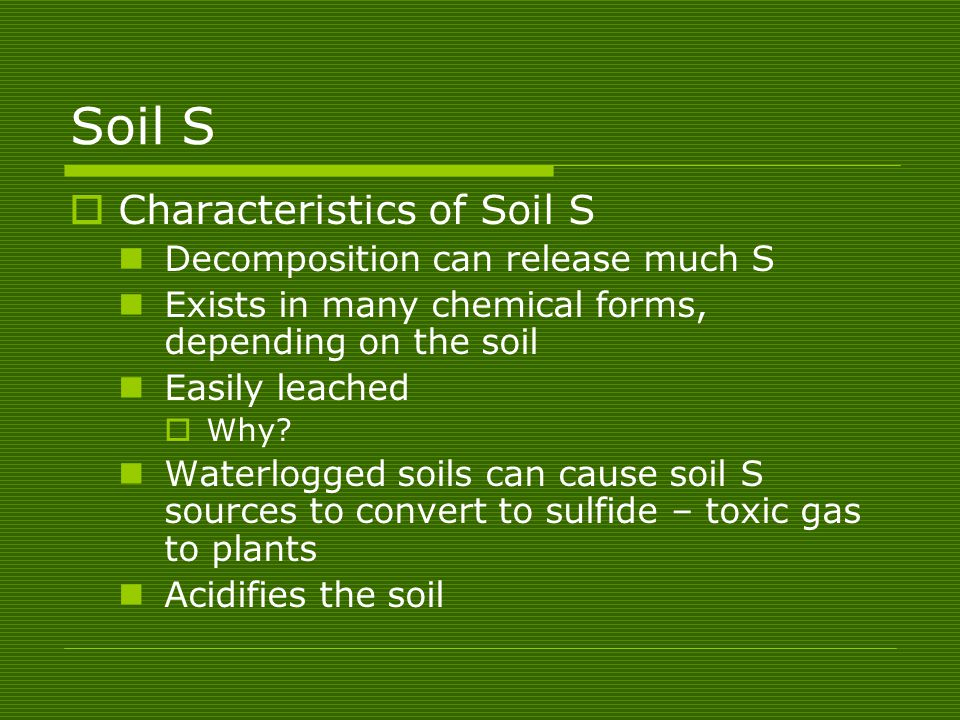 Unit 8 plant nutrients chapter ppt video online download for What are the characteristics of soil