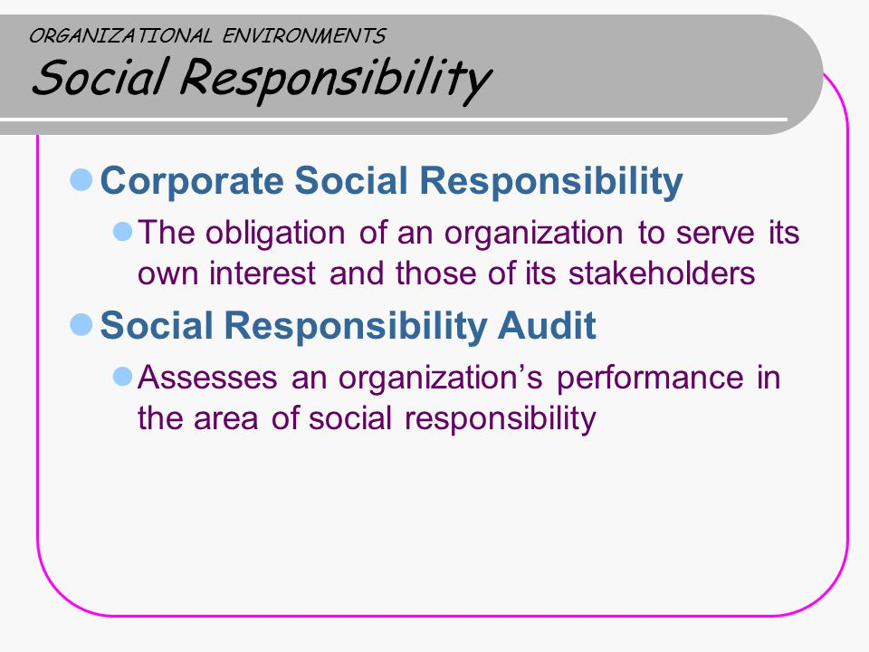 a discussion on the corporate social responsibility Or journal without encountering some discussion of the issue, some recent or  innovative example of what business is thinking or doing about csr, or some.