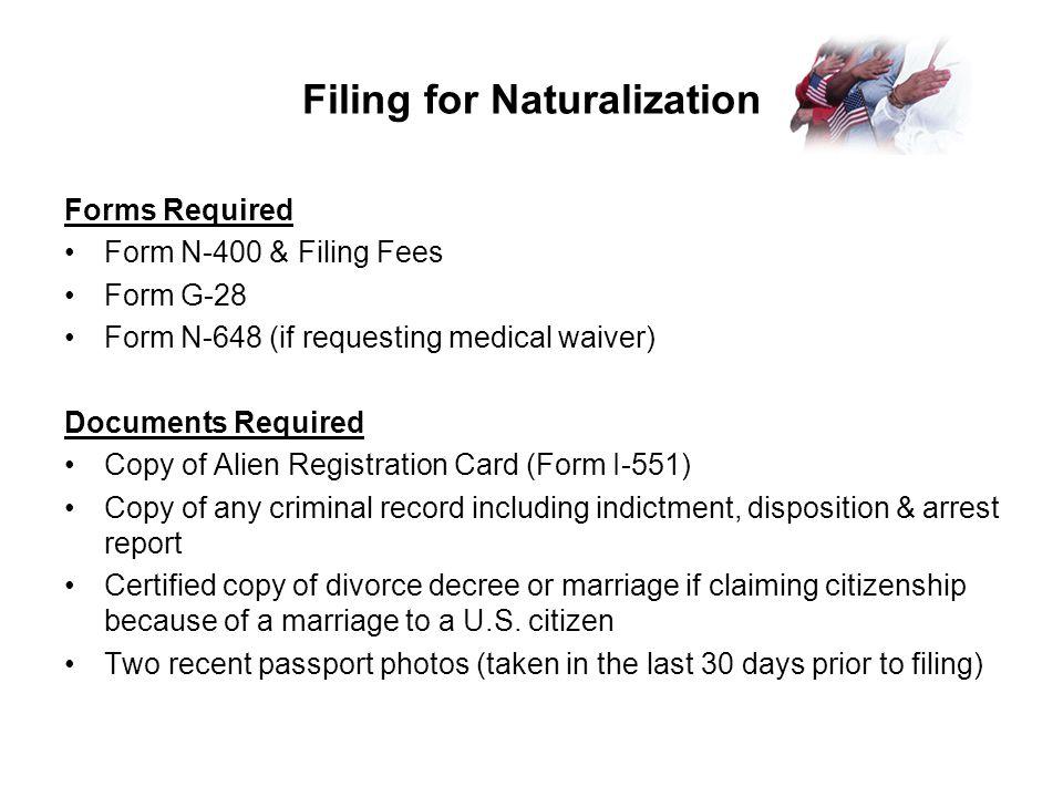 Us Citizenship Naturalization Ppt Video Online Download