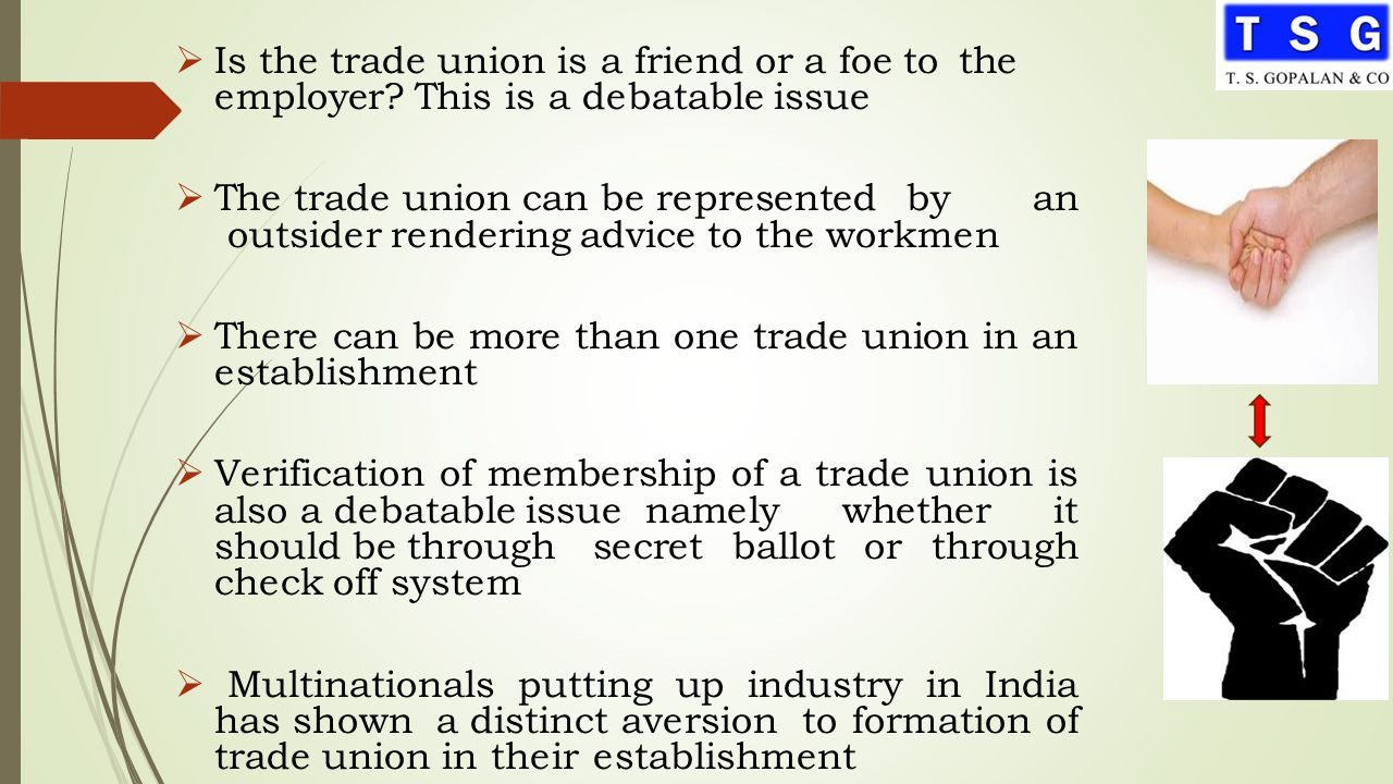 Trade union check off system