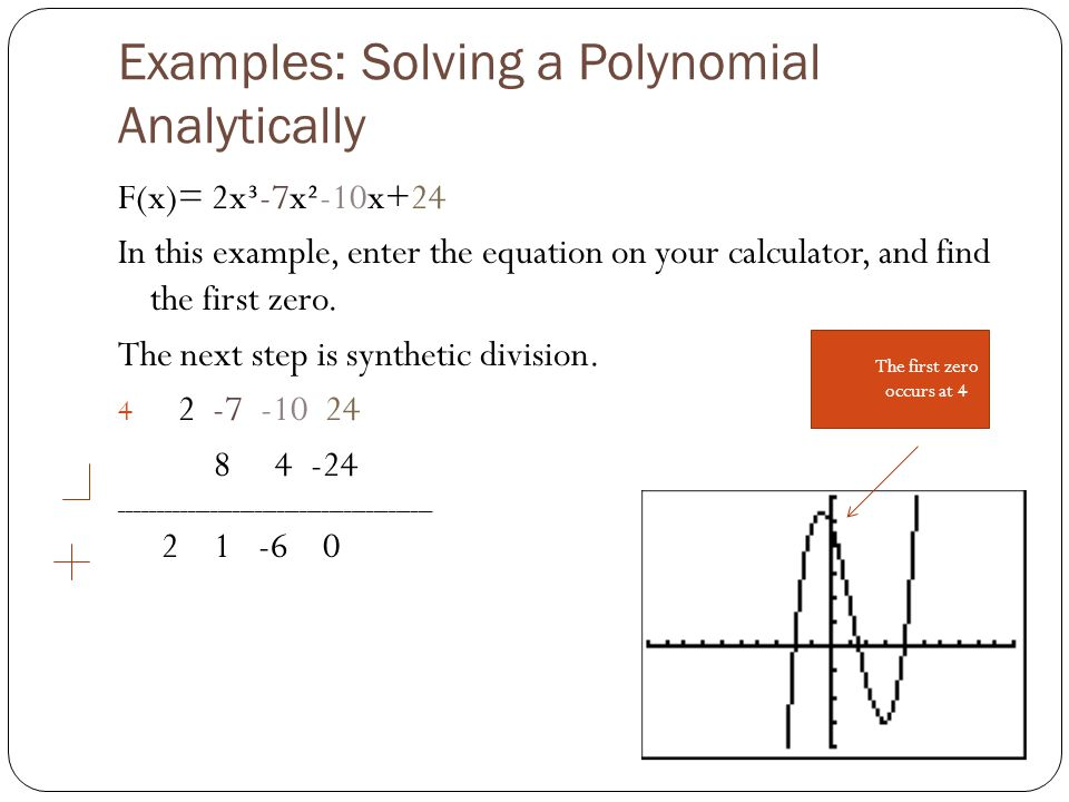 how to find factors of a polynomial using calculator