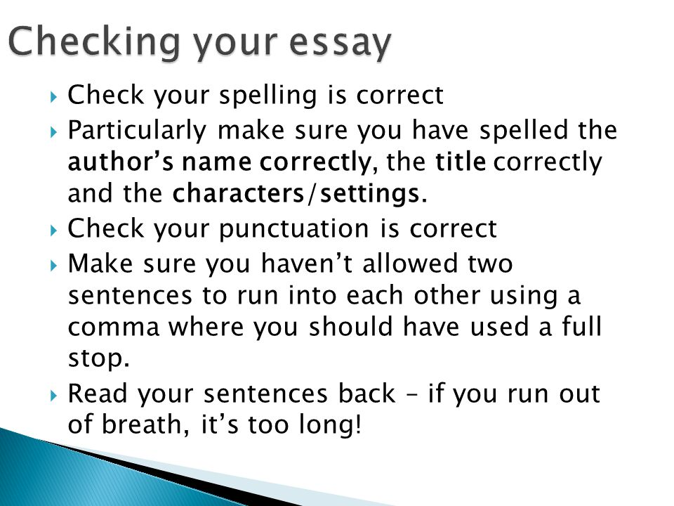 why is spelling and mechanics important in writing an essay Effective technical writing in the information age: login chapter 2 punctuation, mechanics, capitalization, and spelling print chapter 2 punctuation.