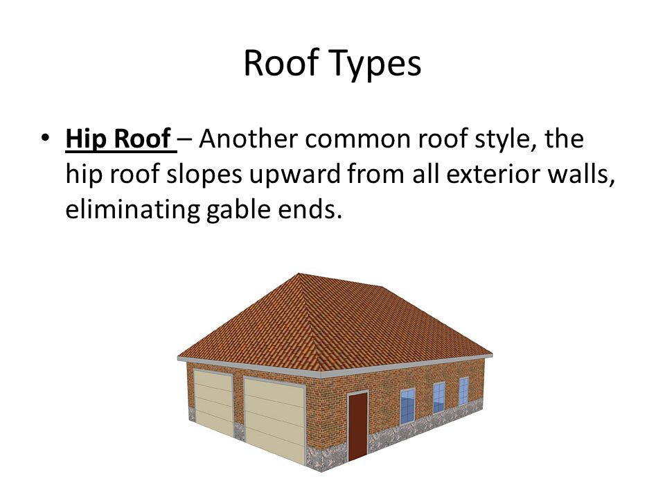 Roof Types Components Terminology ppt video online download