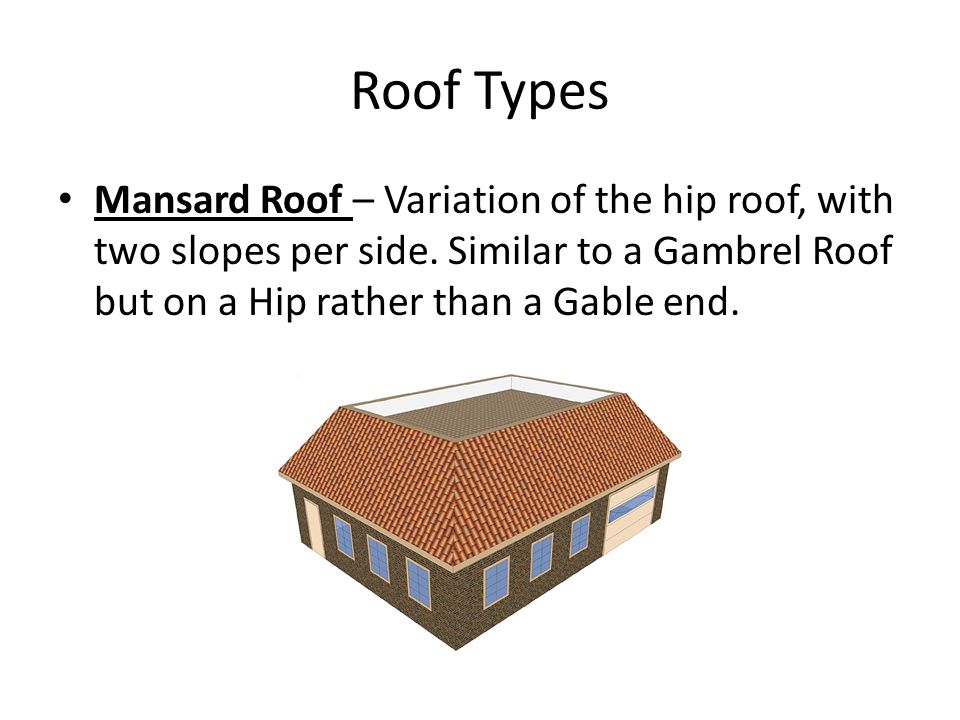 Roof Types Components Amp Terminology Ppt Video Online