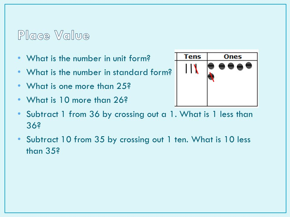 Lesson 4.1: Addition and Subtraction of 1 and ppt video online ...