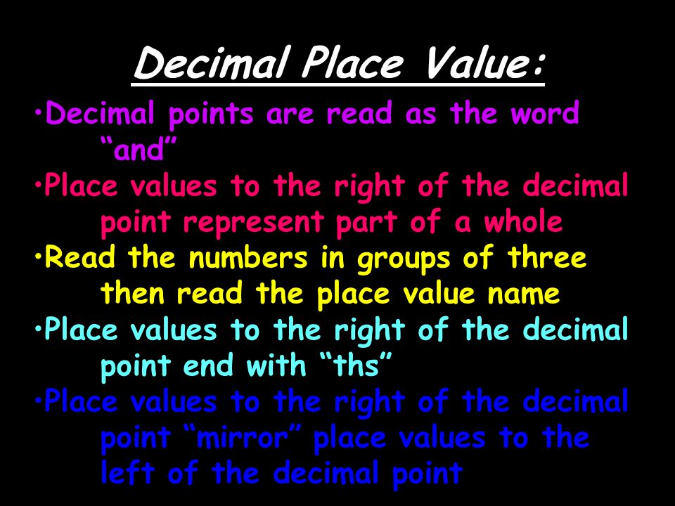 Teaching With a Mountain View: Decimal Place Value Resources ...