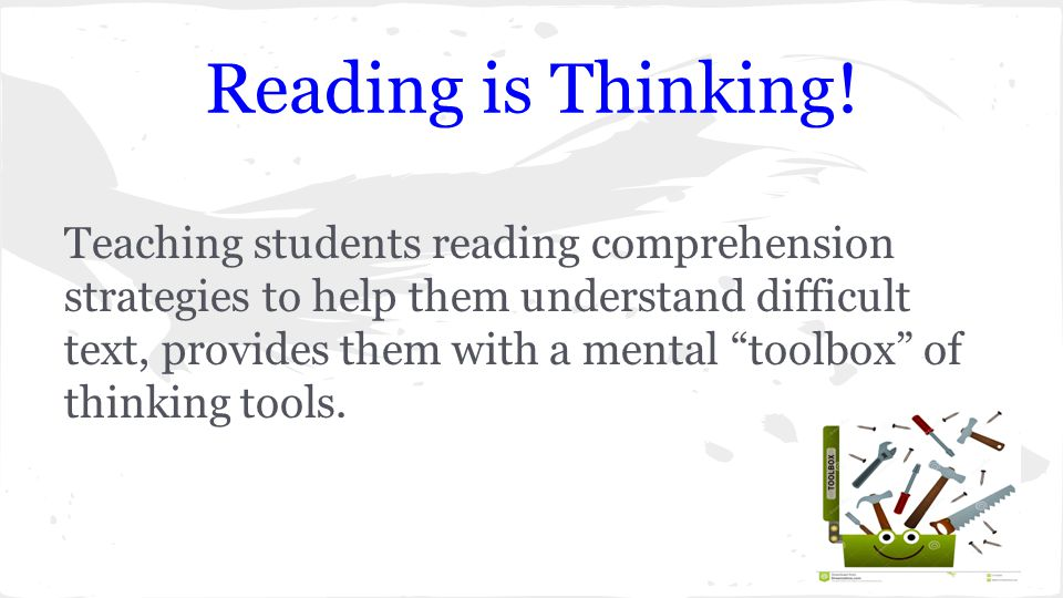 reading comprehension action research