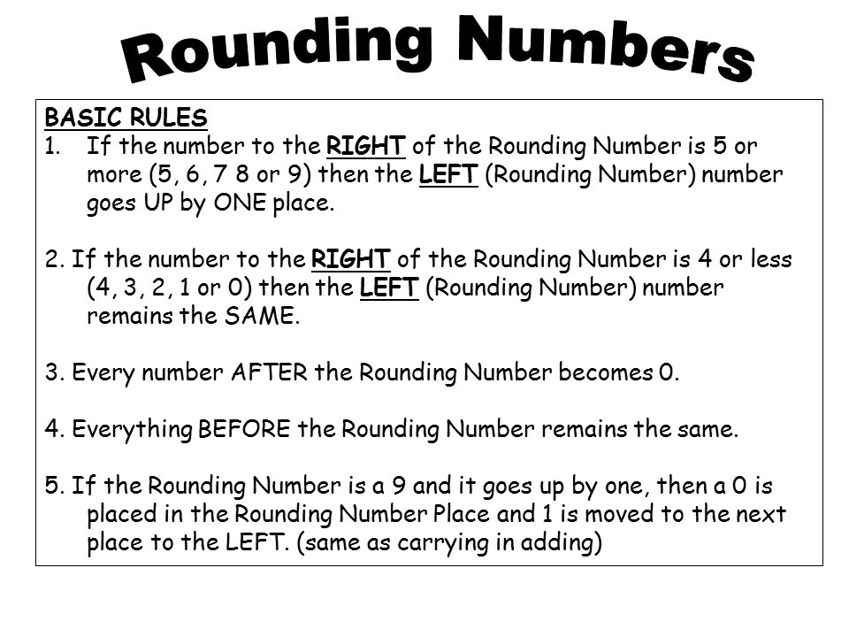 Rounding Worksheet to the nearest 1000